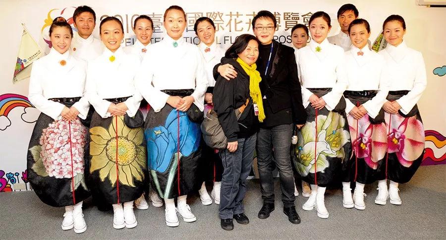 《唯有诚意》杨惠姗的艺术花朵,绽放于2011台北花博会