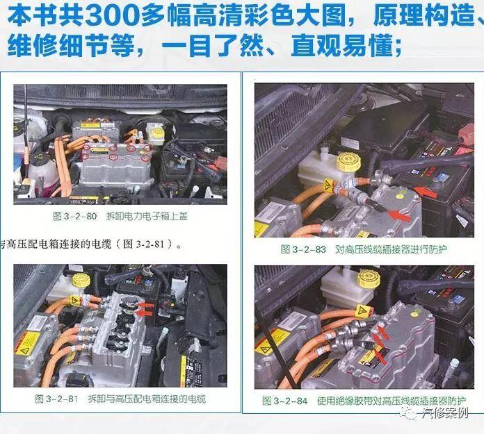 【汽车修理手册】新能源纯电动汽车常用维修材料快速检查