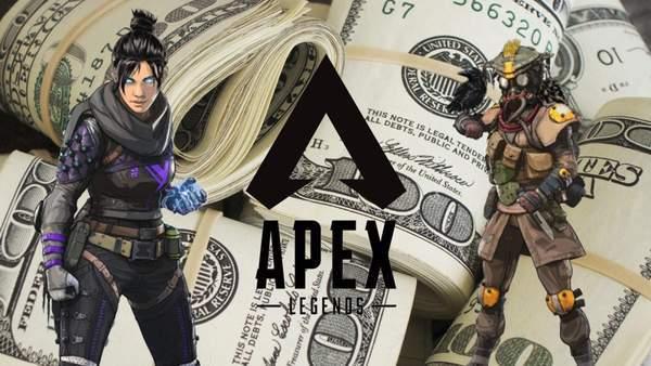 《Apex英雄》《堡垒之夜》选手奖金排名 美国近乎霸榜