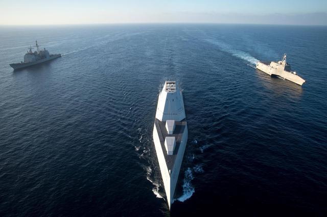 以退为进!美军先退役6艘旧巡洋舰,省下钱造新舰应对055大驱压力