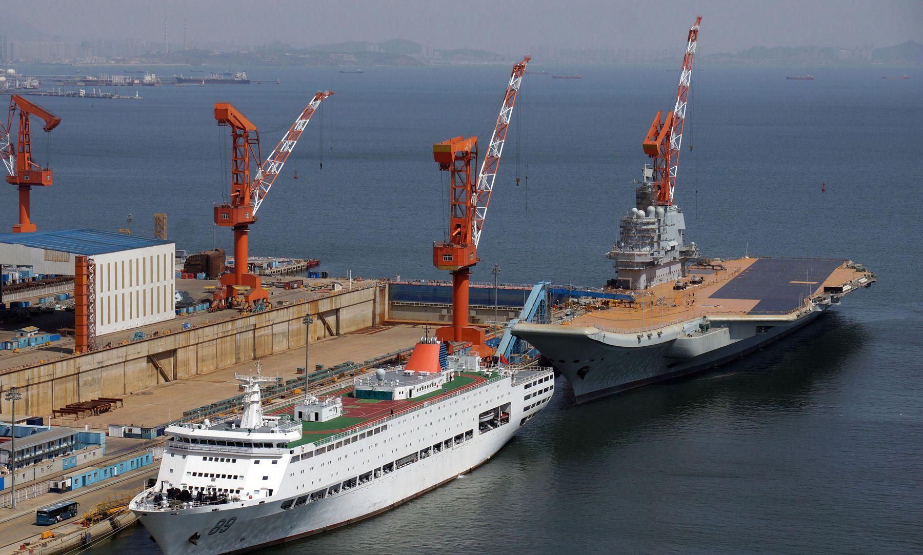 国产航母的最新进度曝光,但这对于海军节来说