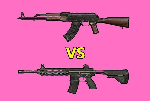 绝地求生里武器的种类非常多 段位不同选择不同