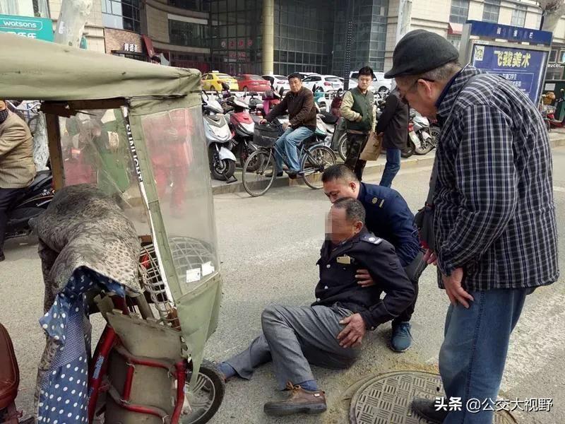 路遇交通事故,六合502路公交车变身救护车,司机三天救助两起事故伤者....