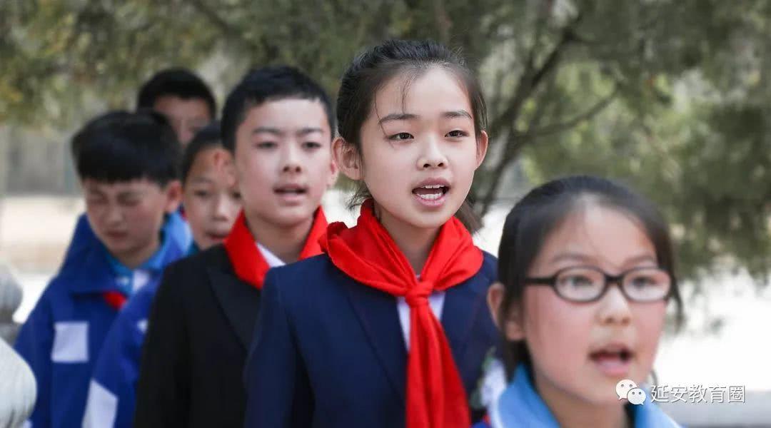 红旗下,春风里,这群小小少年把烈士精神传承