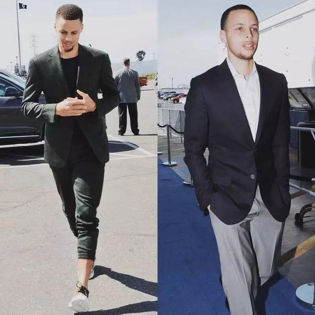 脱下球衣这些NBA明星都是西装型男!