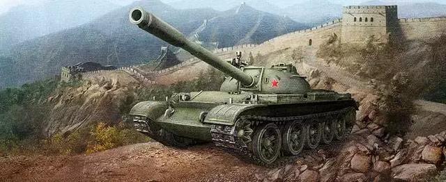 59式丨《坦克世界》中我国的坦克神车!