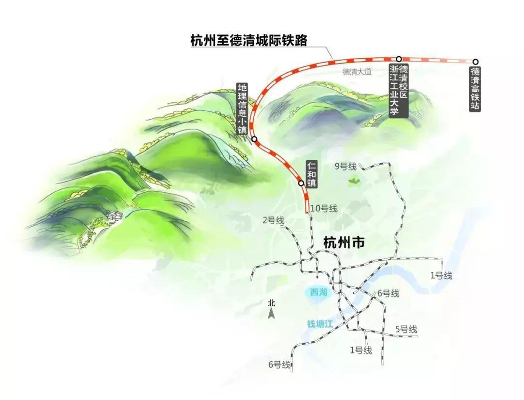 余杭区仁和镇规划图