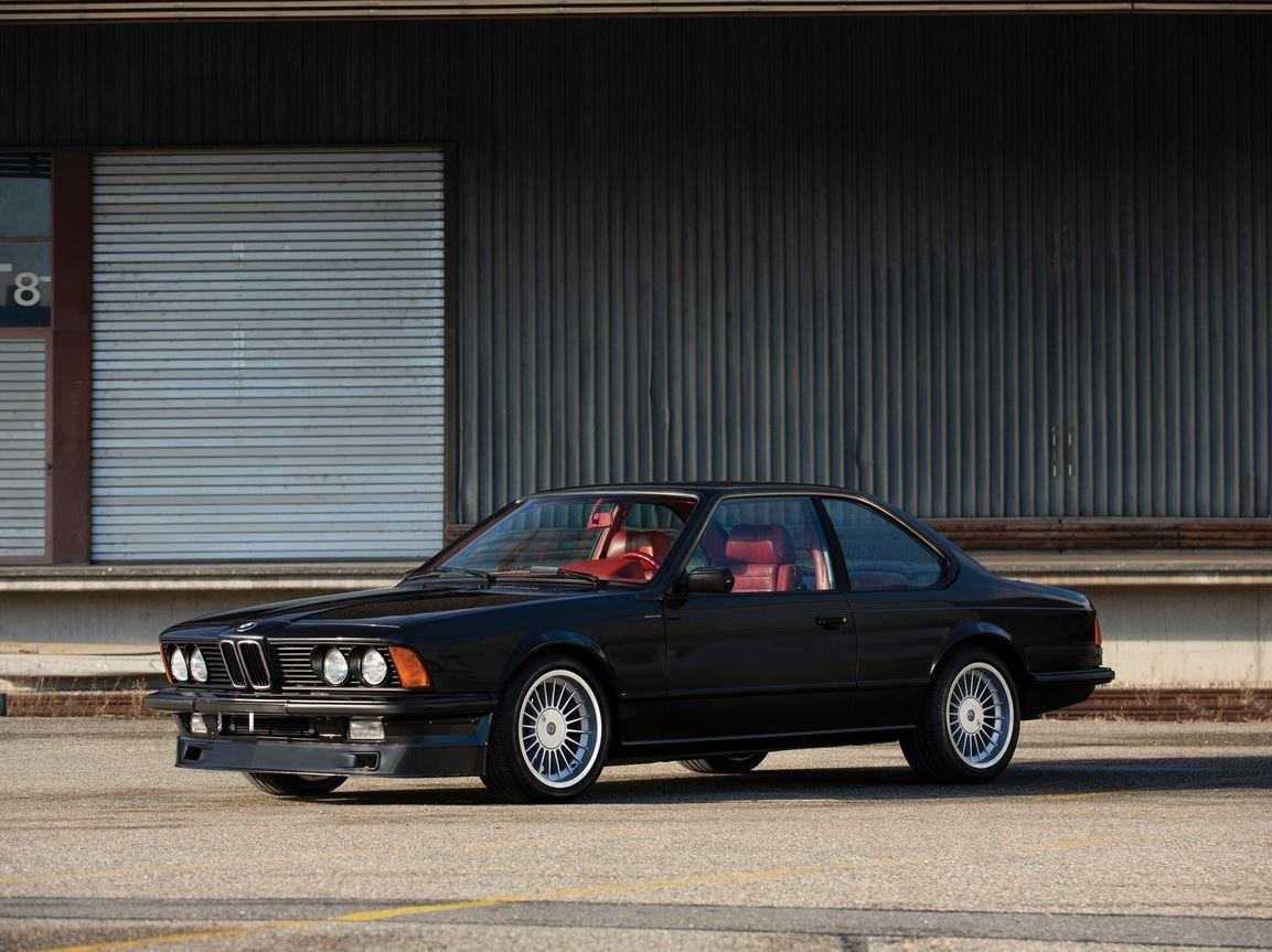 经典车型:1987款宝马E24 BMW 6系欣赏