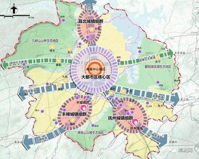 奉新黄溪新区规划图