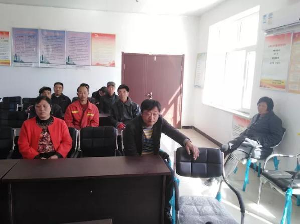 辽宁省葫芦岛市朱家店村环境卫生与防火工作推进会