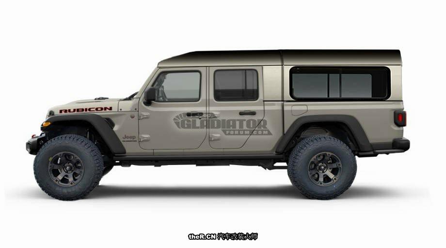 你能想到多少种关于Jeep后斗的改装方式?这