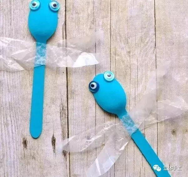 爱萌客 2分钟学会勺子创意手工,赶紧把扔掉的勺子捡回来