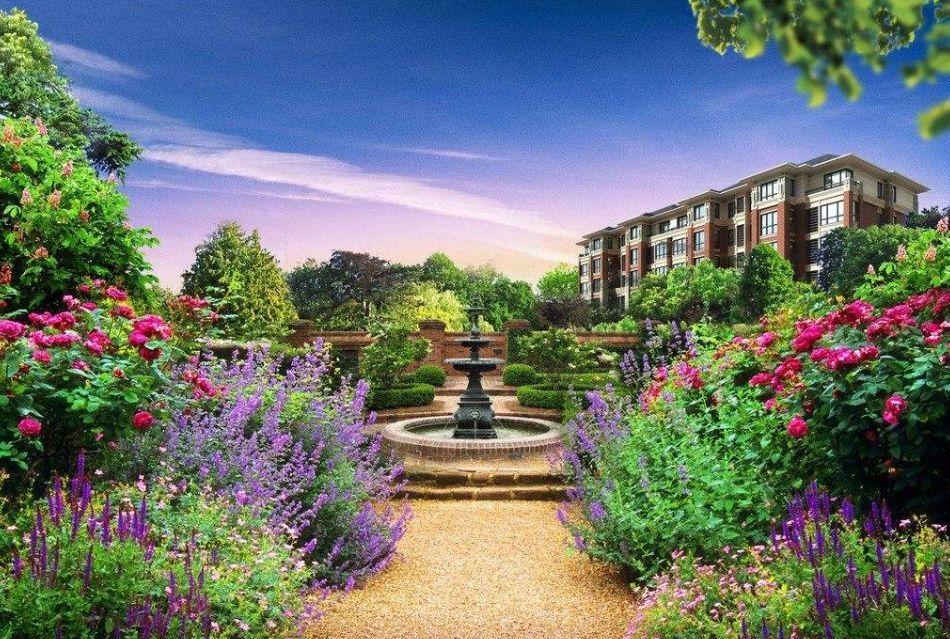 乡村规划设计丨50款中式庭院 VS 50款西式院子,你喜欢哪款