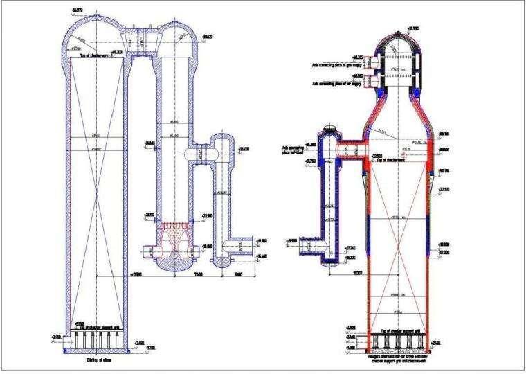 针对热风炉热风出口跑风问题的解决方案