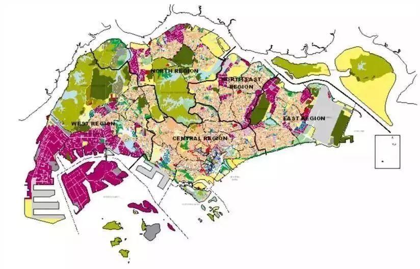 国际经验 2019新加坡总体规划出炉