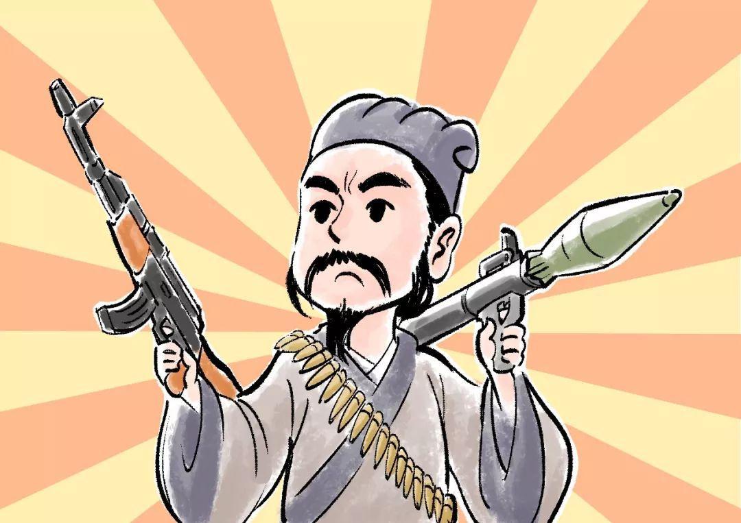 钢铁斗士韩愈:火力全开,永不退缩的人生到底有多酷_李白