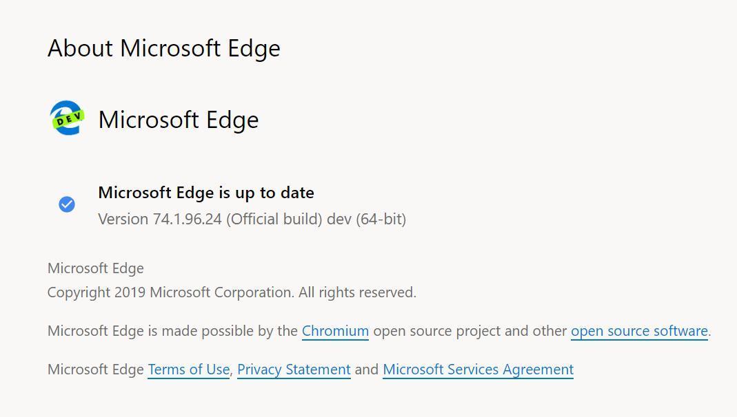 久候多时!Chromium版Edge浏览器公开测试,十分流畅