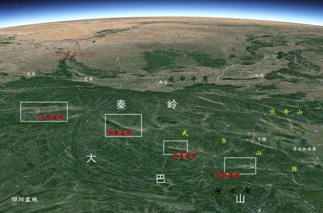"""中國兩大""""世外桃源""""地形,與世隔絕,良田萬頃,為啥都在湖北?_房縣"""