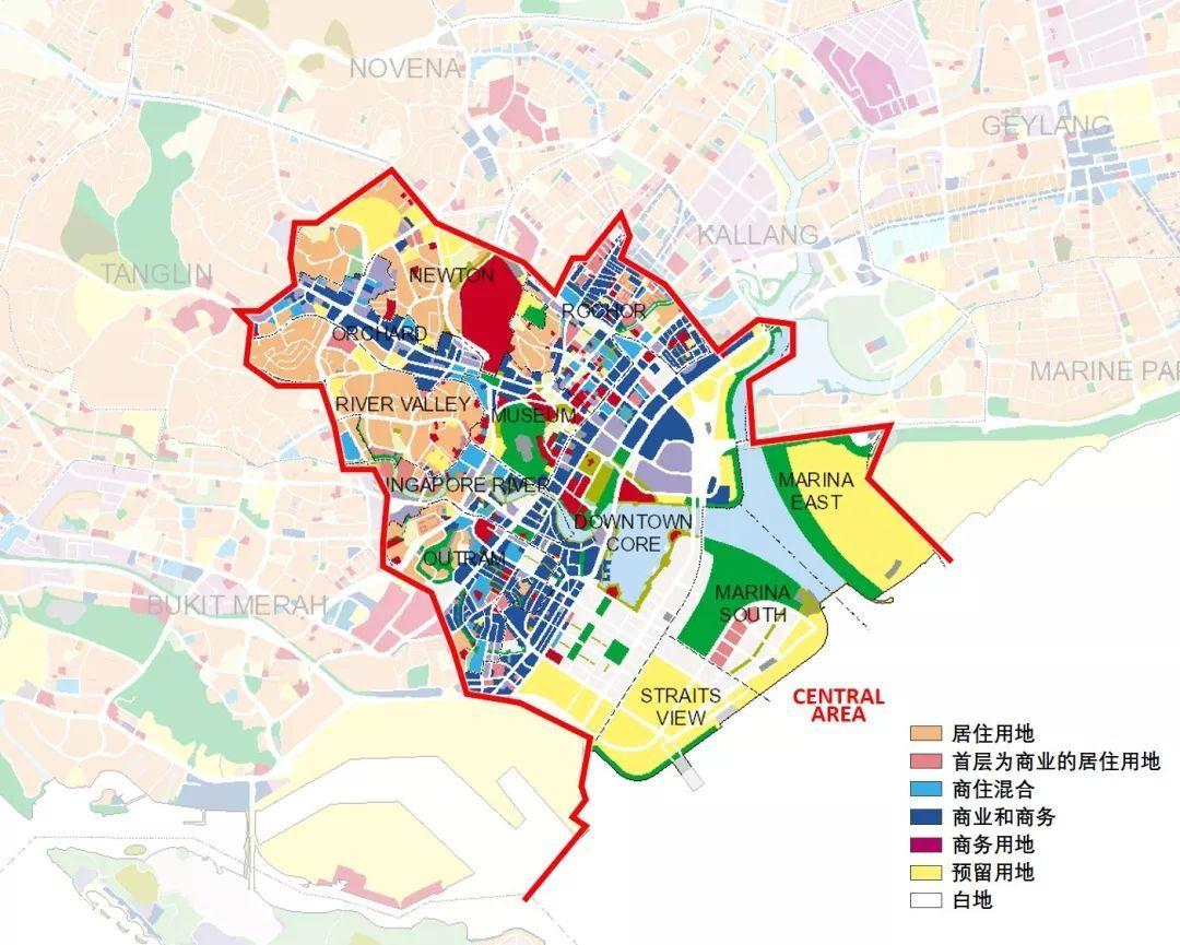 新加坡总体规划草案2019出炉了 二