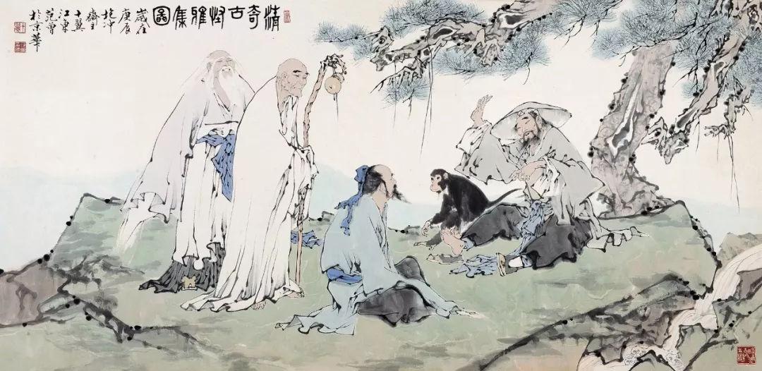 第1299期 范曾 2018年最高成交价前10幅作品,中国画家拍卖成交指数