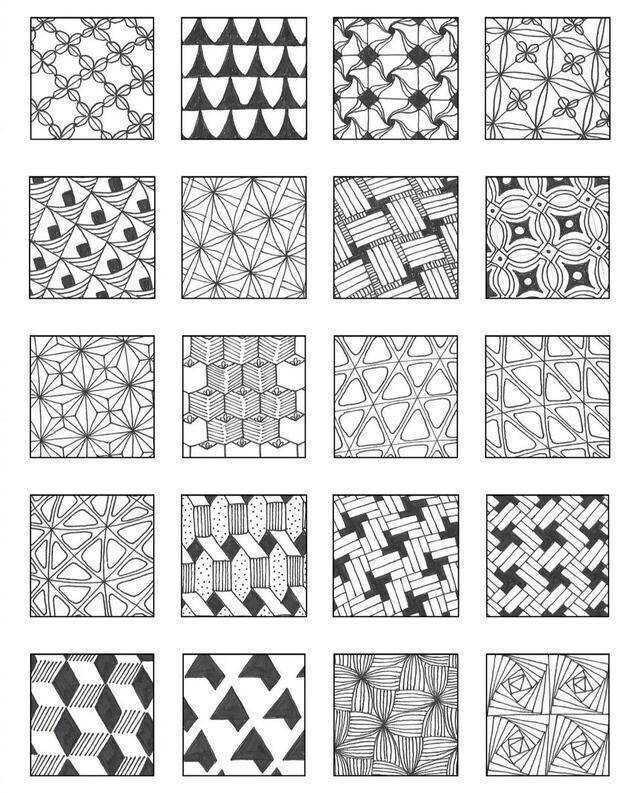 少儿线描画基础知识,会了线条组合不在发愁画线描作品
