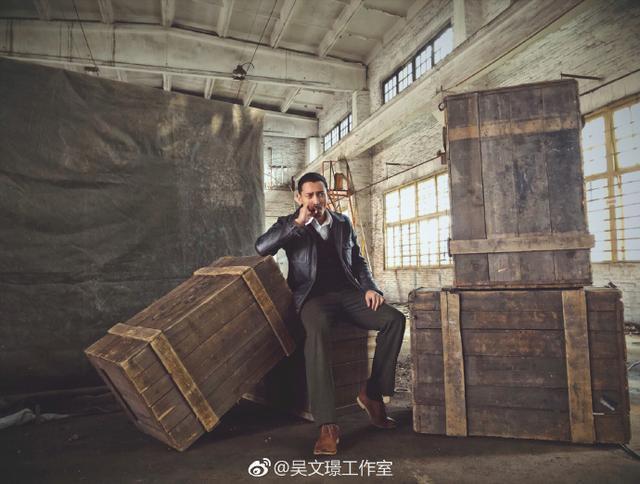 拍完戏就没动静,一出现就是做公益,吴文�Z也太暖心了
