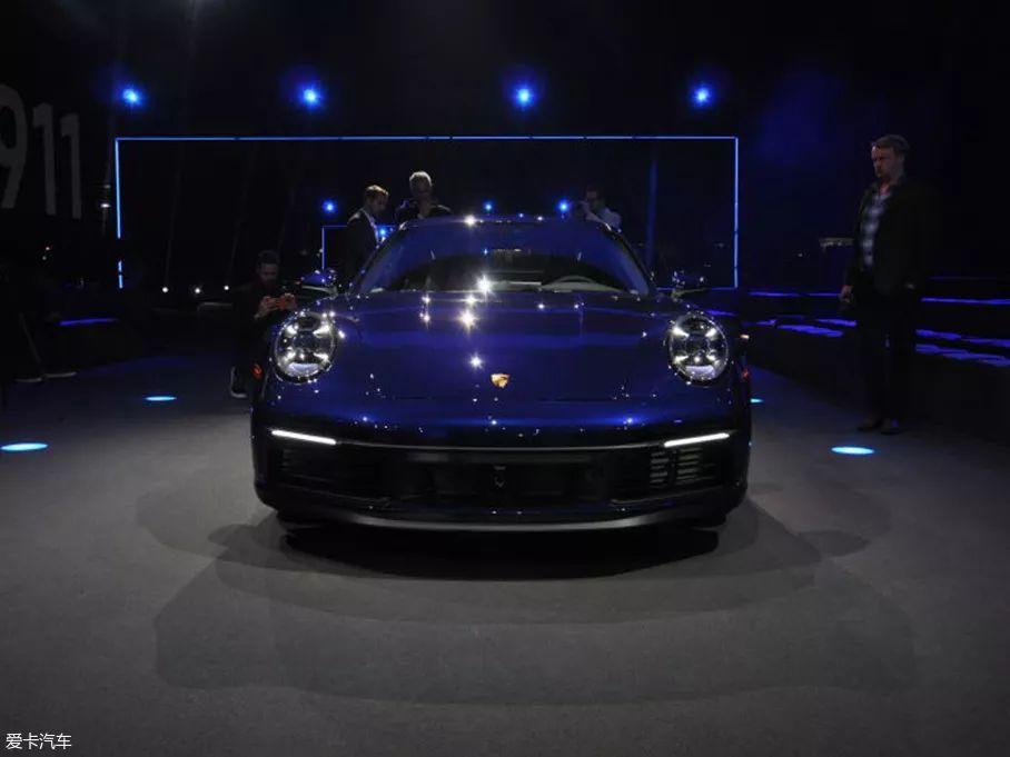 全新保时捷911两款新车将上海车展首发