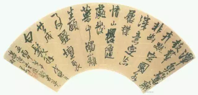 王铎 博学好古,善绘画与书法,以书法闻名于世。(图11)