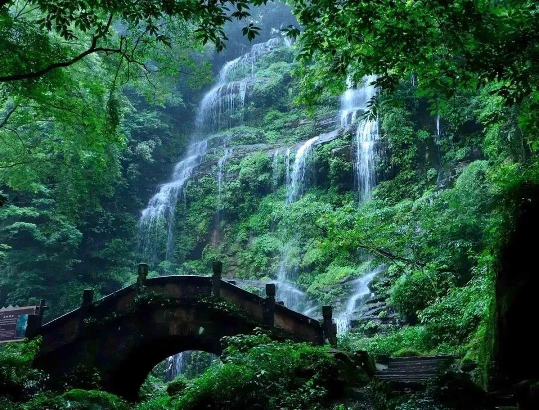 邛崃天台山旅游地图
