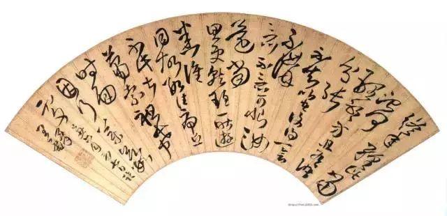 王铎 博学好古,善绘画与书法,以书法闻名于世。(图9)