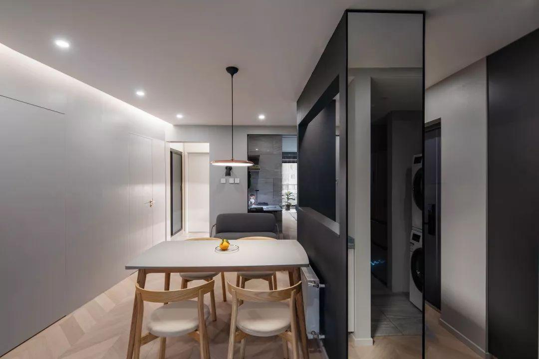 北京这个85㎡的小家不受房型限制,轻松实现各种生活模式自由切换,5人同时用卫生间也不怕