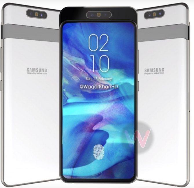 """""""真""""全面屏——三星将于4月10日推出Galaxy A80"""