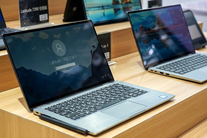 英特尔芯二合一电脑_专业商用本 戴尔Latitude 7400二合一发布_笔记本