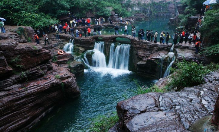 世界地质公园 河南云台山两日游