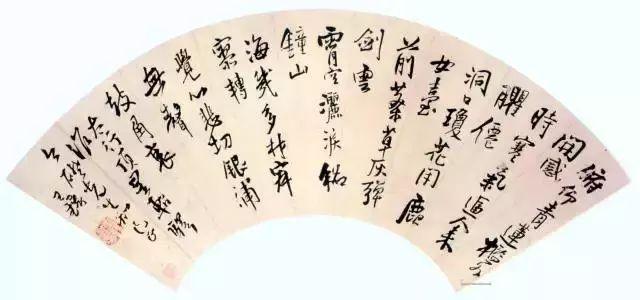 王铎 博学好古,善绘画与书法,以书法闻名于世。(图5)
