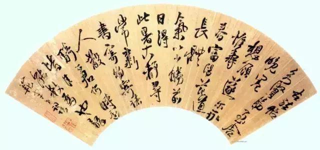 王铎 博学好古,善绘画与书法,以书法闻名于世。(图4)