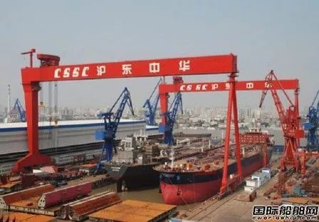 中国船企一季度接单量稳坐全球第一