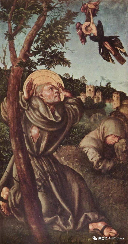 连载No.7老卢卡斯 克拉纳赫 一生要知道的100位世界著名画家