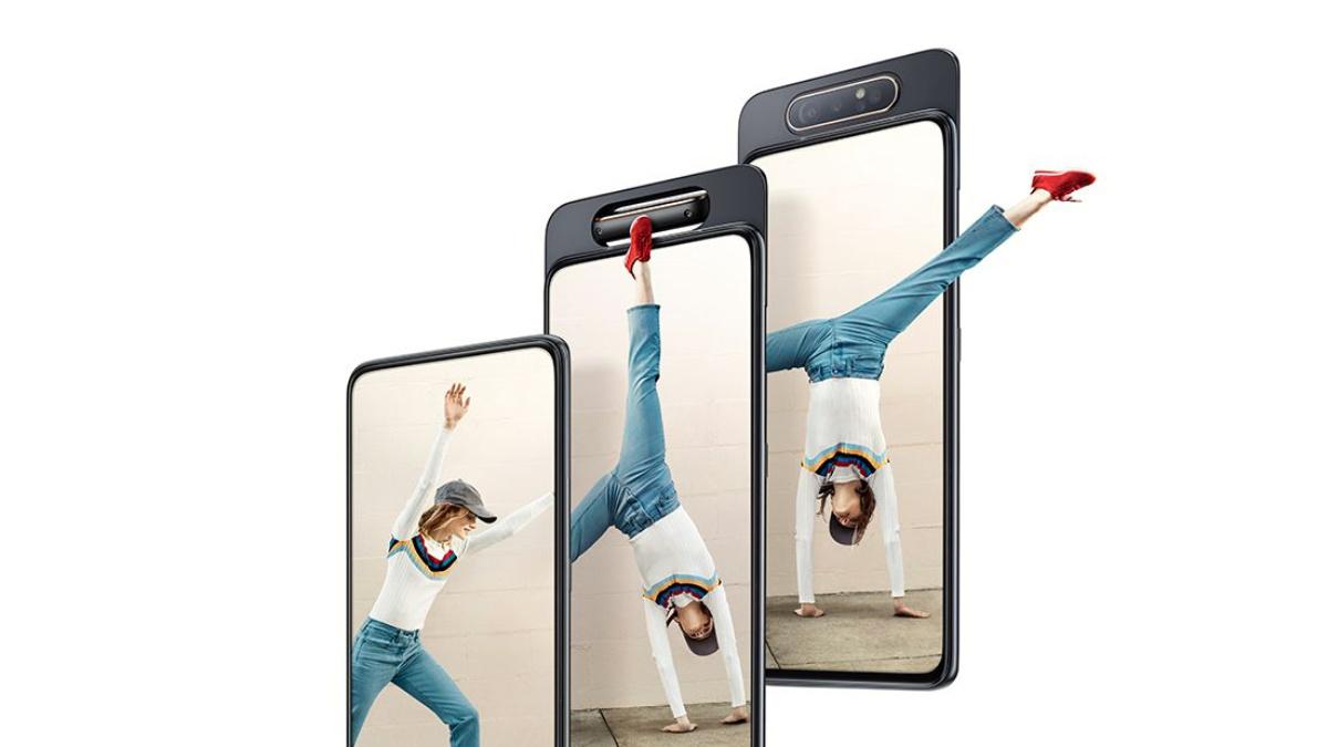 三星首款真全面屏手机 Galaxy A80 发布:采用升降式+可翻转镜头设计
