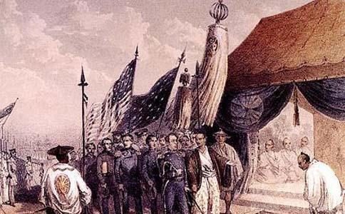 日本为何没有被殖民?西方需要一个打手,再者日本请了两尊门神