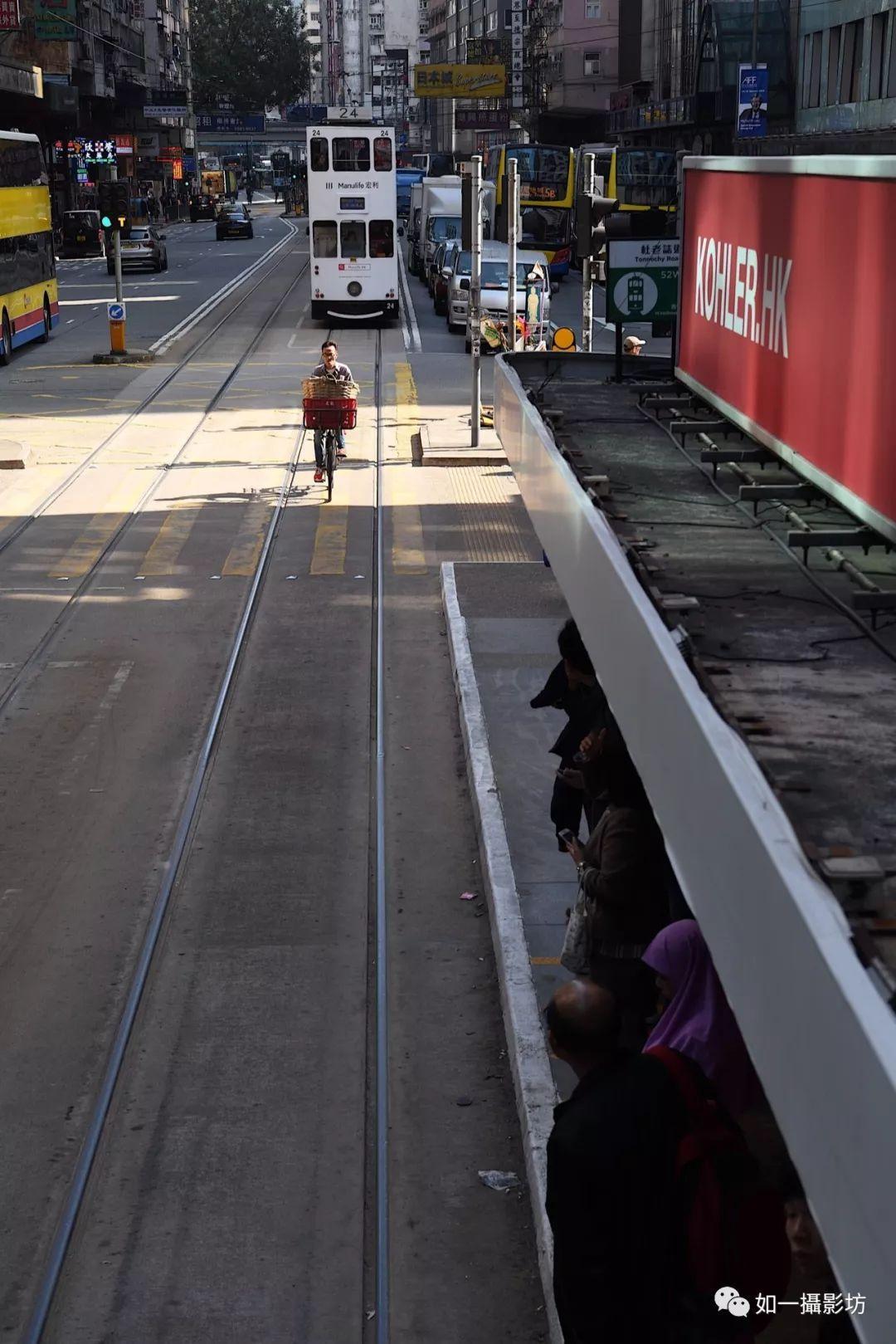 """港岛最早的公共交通""""叮叮"""",张爱玲得听着电车响才睡得着"""