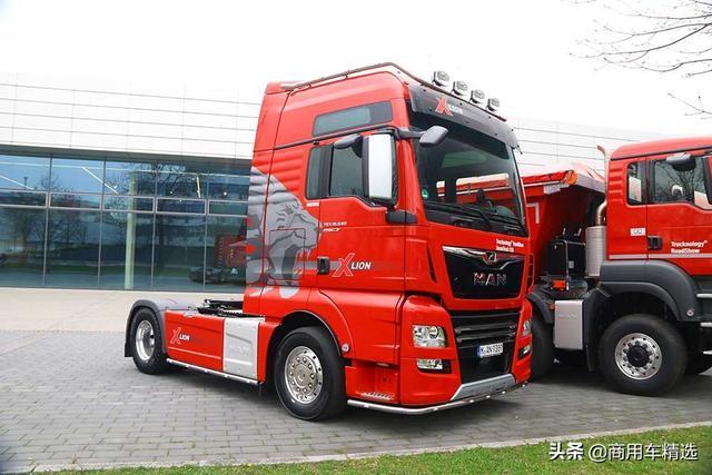 640马力热血4x2单拖 德国实拍MAN TGX 18.640 X-Lion单桥牵引车