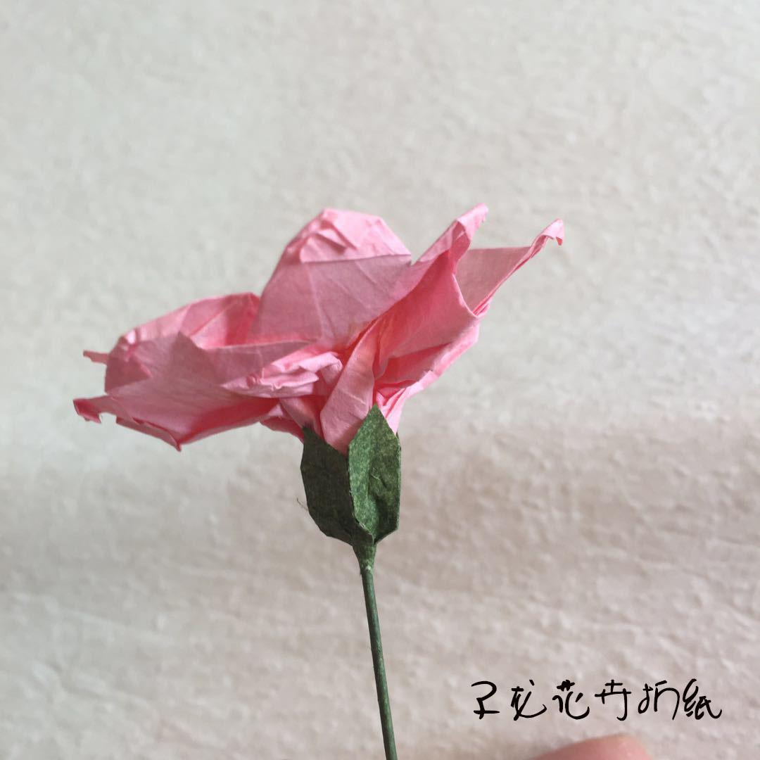 纸艺绣球花教程 DIY纸藤 浮染纸