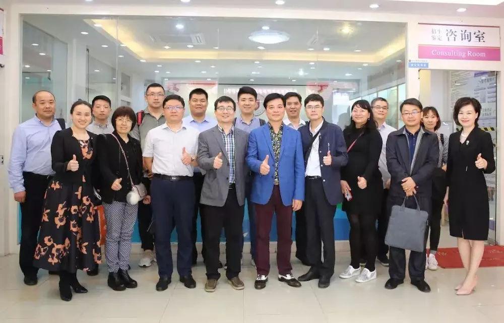 北京人社局考察团到深圳市服装行业培训学校调研交流