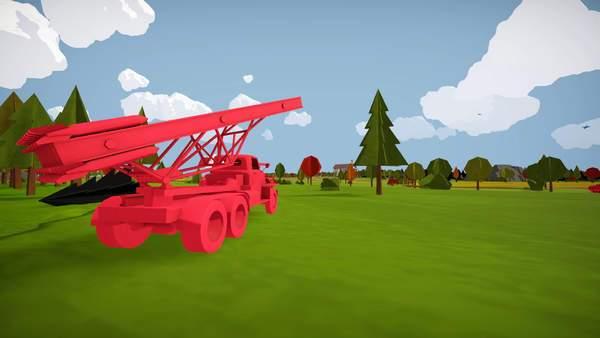 《全面坦克战争模拟器》画风卡通,给人一种童年的感觉