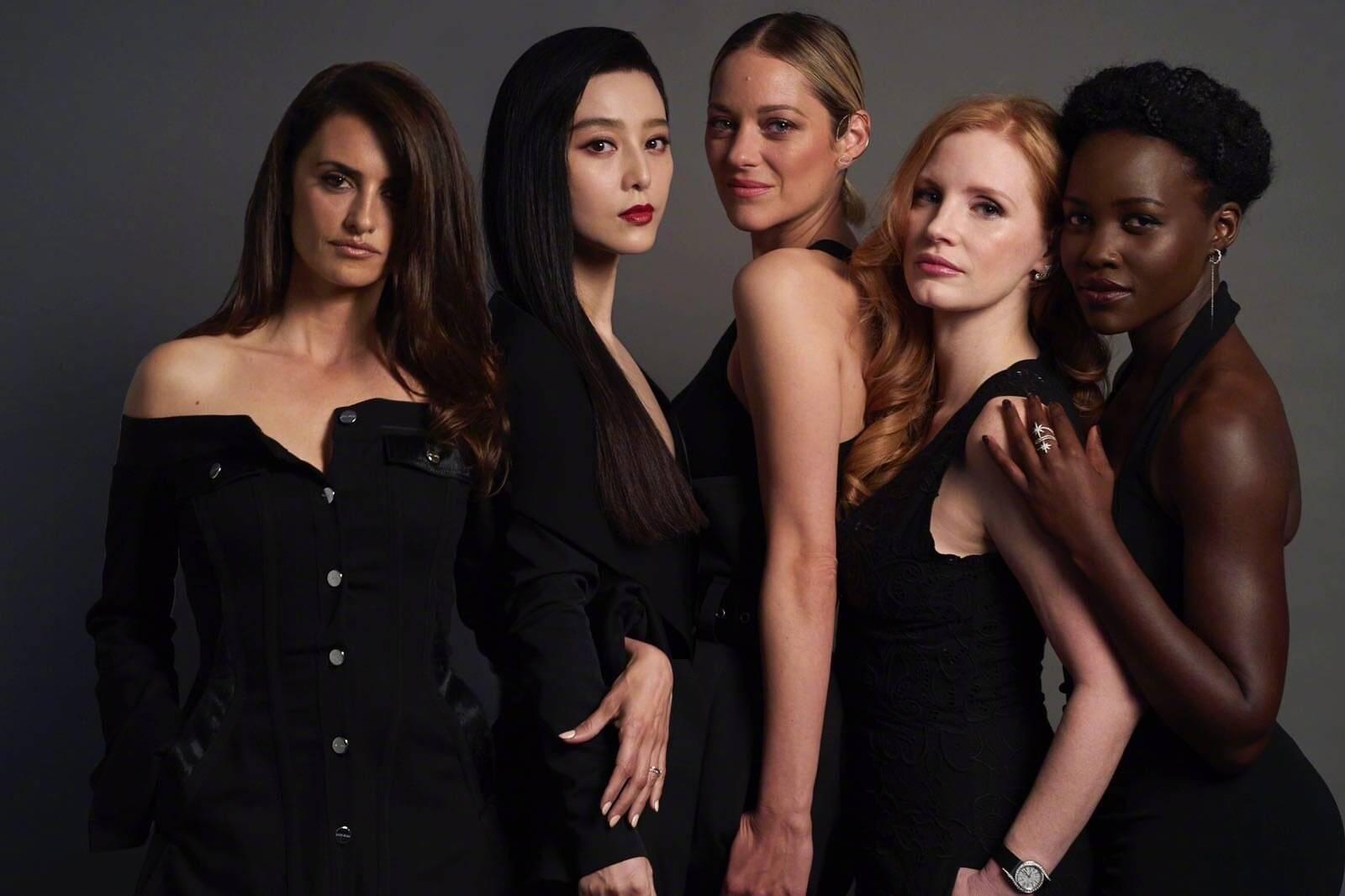 外媒曝范冰冰确定复出,将与4位好莱坞女星回归动作大片