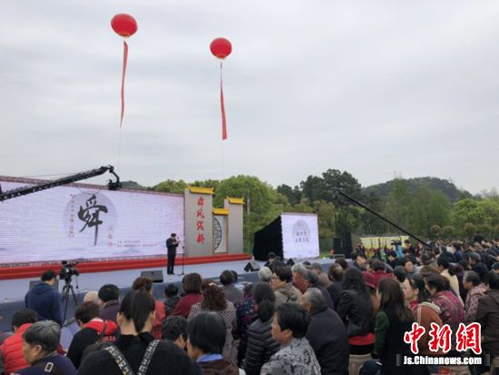 """无锡钱桥舜文化节启幕21个系列活动""""助阵"""""""
