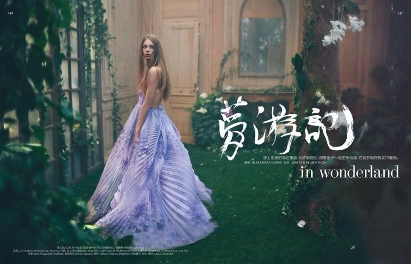 梦幻浪漫系列|中国元素的点滴,从容优雅的时光美人