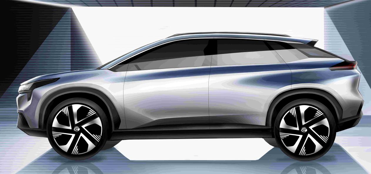 神似兰博基尼Urus!广汽新能源豪华纯电超跑SUV完整造型曝光