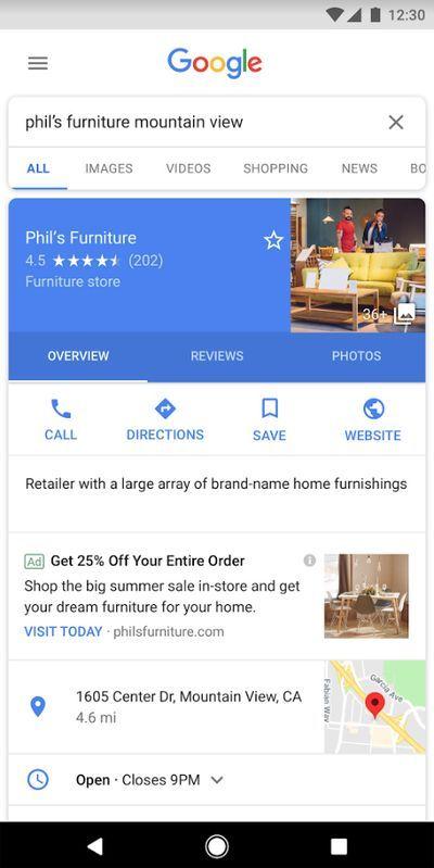 """谷歌地图尝试加广告,或将成为新一代""""印钞机""""业务"""